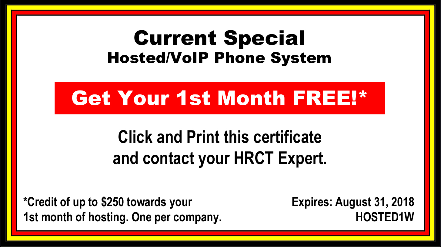 HRCT Current Special Coupon for Website
